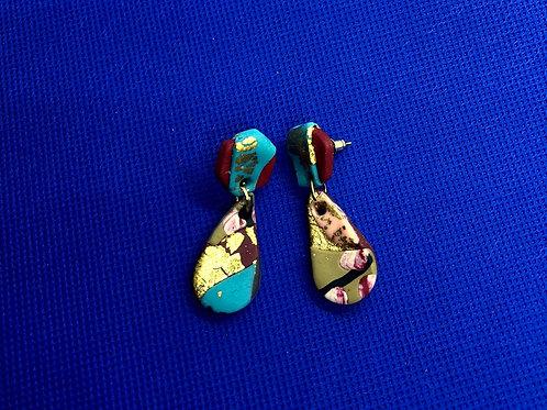 Xahra zero waste earrings