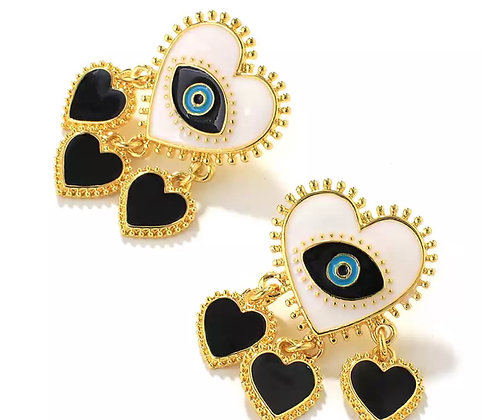 Galbe Abyad Earrings