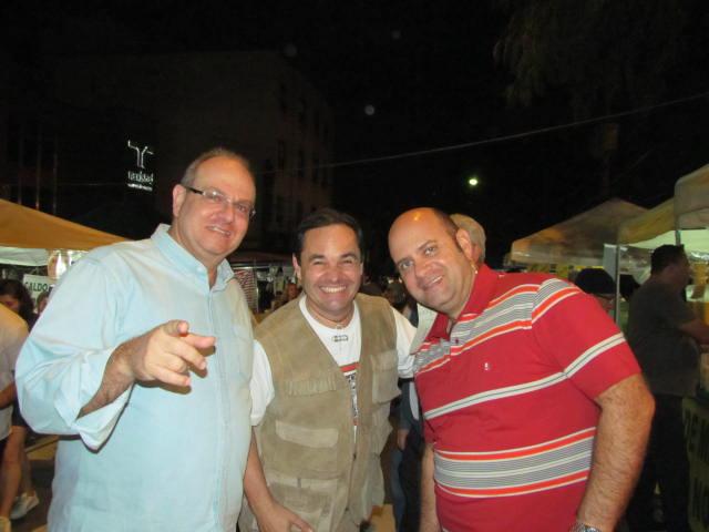 Sérgio, Fittipaldi e Derico