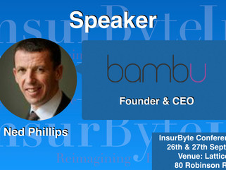InsurByte is happy to announce Bambu and Ned Philips as our Speaker for InsurByte Conference 2017!