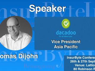 InsurByte is proud to announce Dacadoo as an Associate Partner for InsurTech 2017!