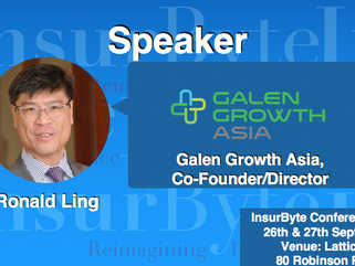 We are excited to announce Dr Ronald Ling as a Speaker for InsurByte Conference 2017
