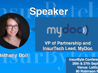 We are excited to announce Bethany Boll as a Speaker for InsurByte Conference 2017!
