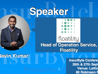 We are excited to announce Navin Kumar, Head of Operation Service at Floatility, as a Speaker for In