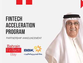 Bahrain FinTech Bay and Bank of Bahrain and Kuwait (BBK) announce partnership for FinTech Accelerati