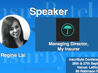 We are excited to announce Regine Lai as a Speaker for InsurByte Conference 2017!