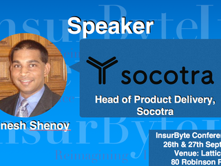 We are excited to announce Dinesh Shenoy as a Speaker for InsurByte Conference 2017!
