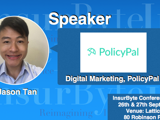 We are excited to have Jason Tan, Digital Marketing at PolicyPal, as a speaker for InsurByte Confere