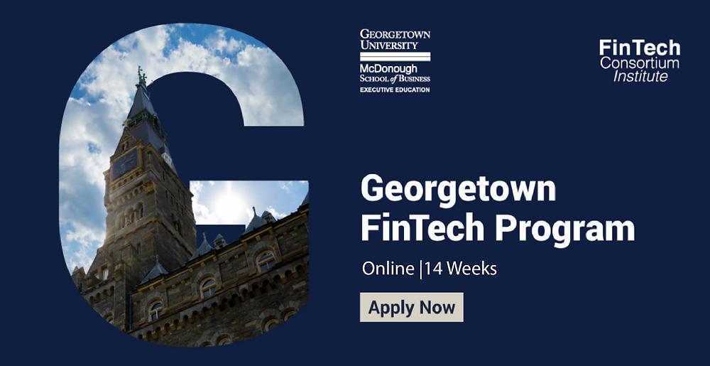 Georgetown FinTech Program