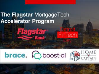 Flagstar and Detroit FinTech Bay Announce Startups for Mortgage Tech Accelerator Program