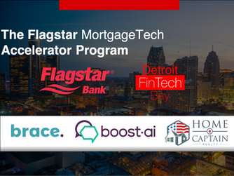 Flagstar and Detroit FinTech Bay Announce Startups for Mortgage Tech Accelerator Program