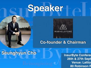 InsurByte is very pleased Marvelstone Group, as a Speaker for InsurByte! Conference 2017!