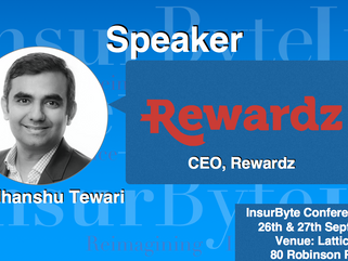 We are excited to announce Sudhanshu Tewari as a Speaker for InsurByte Conference 2017!