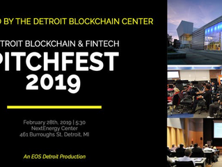 Detroit Blockchain Center to Host the Inaugural Detroit Blockchain & Fintech Pitchfest powered b