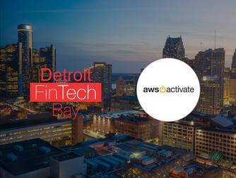 Detroit FinTech Bay Announces Amazon Web Services as Solution Partner