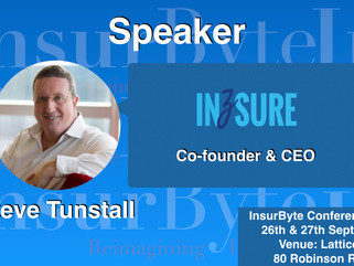 InsurByte welcomes Inzsure and Steve Tunstall as a Startup Partner for InsurByte Conference 2017!