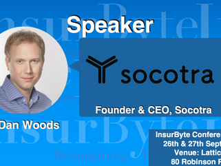 We are excited to announce Dan Woods as a Speaker for InsurByte Conference 2017!