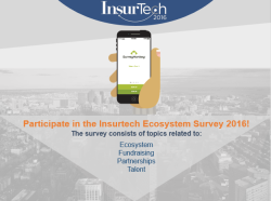 InsurTech Ecosystem Survey