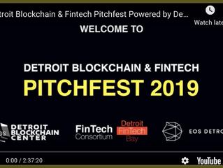 WATCH LIVE: Detroit Blockchain & Fintech Pitchfest
