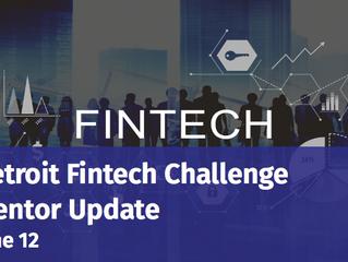 Detroit Fintech Challenge Mentor Update
