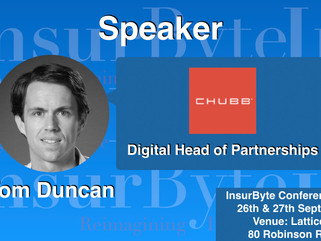 InsurByte is pleased to announce Tom Duncan as one of our panelist for InsurByte Seminar!