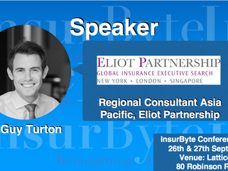 We are excited to announce Guy Turton, Regional Consultant Asia Pacific at Eliot Partnership as a Sp