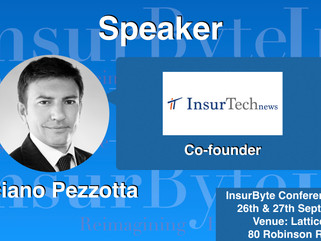 InsurByte is proud to announce InsurTechNews and Luciano Pezzotta as our Media Partner for InsurByte