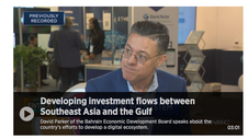 Developing investment flows between Southeast Asia and the Gulf