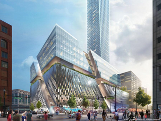 Detroit is building a $1 billion 'city within a city' on the site of a dead department store