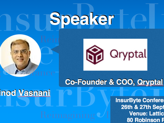 We are excited to announce Vinod Vasnani as a Speaker for InsurByte Conference 2017!