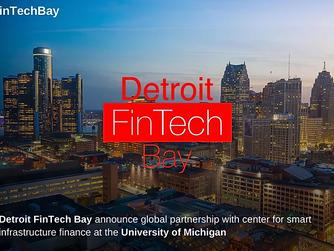 FinTech Consortium and Detroit FinTech Bay announce global partnership with center for smart infrast