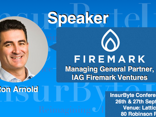 We are excited to announce Ron Arnold, Managing General Partner at IAG Firemark Ventures, as a Speak