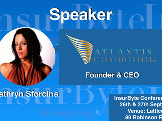 InsurByte is glad to announce Atlantis Confidential Pty Ltd and Kathryn Sforcina as our Speaker for