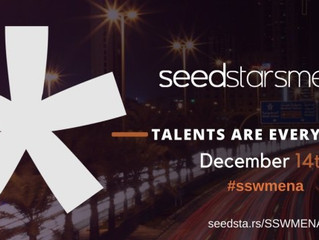 Regional Entrepreneurship Summit Seedstars MENA is right around the corner, are we going to see you