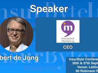 InsurByte is delighted to announce Otbert de Jong as one of our speakers for InsurByte Seminar!