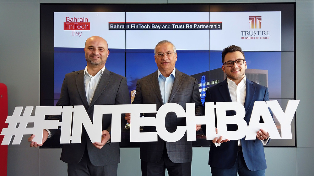 Trust Re & Bahrain FinTech Bay