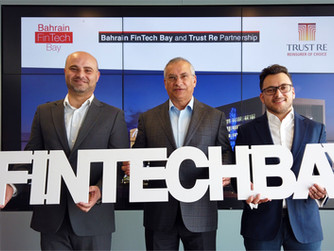 Bahrain FinTech Bay and Trust Re Announce International Partnership