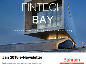 Bahrain FinTech Bay launches second eNewsletter for the month of January!