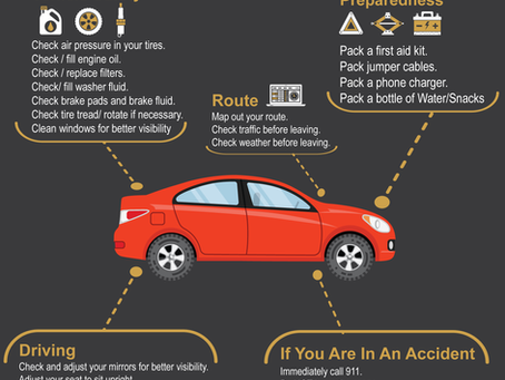 Summer Road Trip Safety