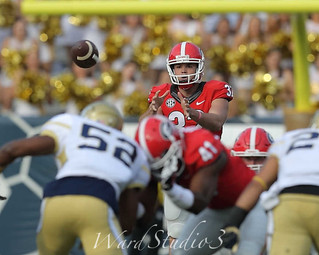 Georgia Bulldogs vs Georgia Tech Yellow Jackets