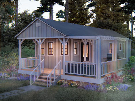 Country Cabin | Tiny Homes North Georgia
