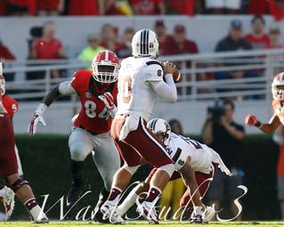 Georgia Bulldogs vs South Carolina Game Cocks