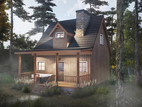 The Denali | Tiny House North Georgia Mountains
