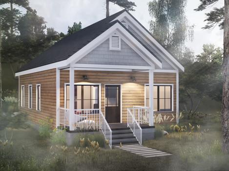 The Cascade | Tiny Homes North Georgia Mountains