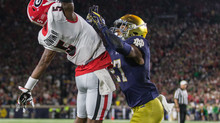 """The Catch"" UGA at Notre Dame"