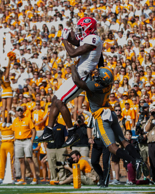 UGA Crushes Tennessee in Knoxville - 2017