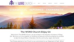 Custom Website for The WORD Church