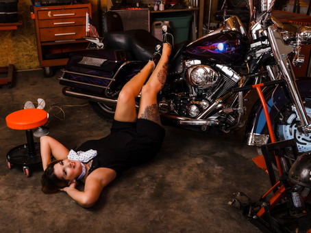 Greaser Girl Part 2 | Laina Louise Pinup Model