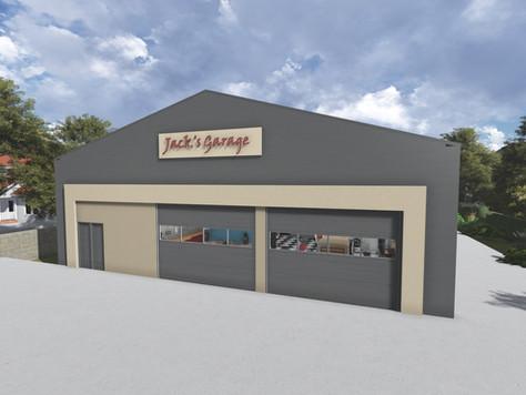 Restoration Garage - Custom Steel Buildings
