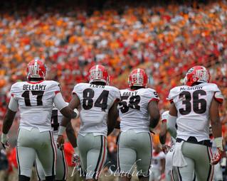 Georgia Bulldogs vs Tennessee Volunteers